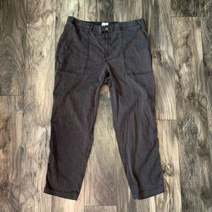 Lou & Grey Womens large pants joggers Black gray